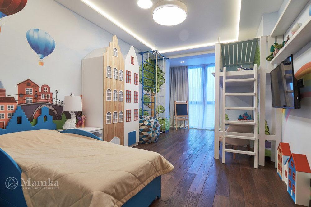 Идеи детской комнаты для девочки с необычной мебелью 13