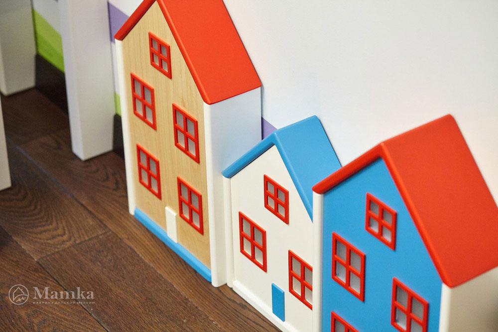 Идеи детской комнаты для девочки с необычной мебелью 3