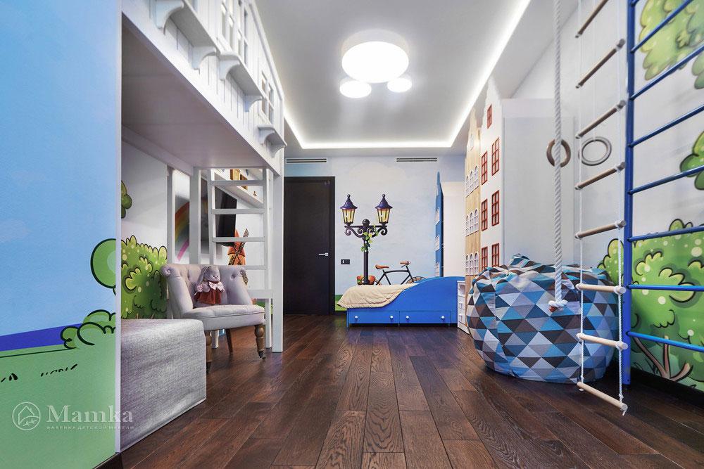 Идеи детской комнаты для девочки с необычной мебелью 4