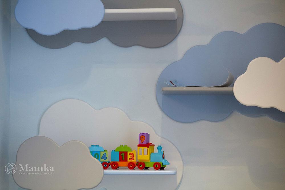 Идеи детской комнаты для девочки с необычной мебелью 5
