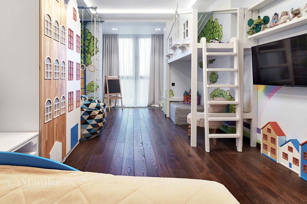 Идеи детской комнаты для девочки с необычной мебелью 8
