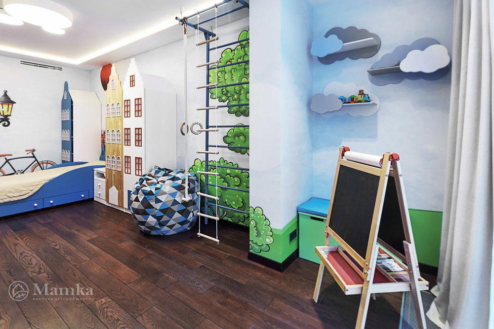 Идеи детской комнаты для девочки с необычной мебелью 9