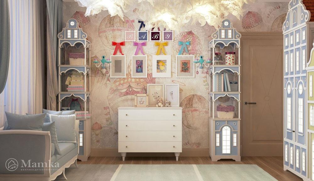 Оригинальные идеи для детской комнаты для самых маленьких