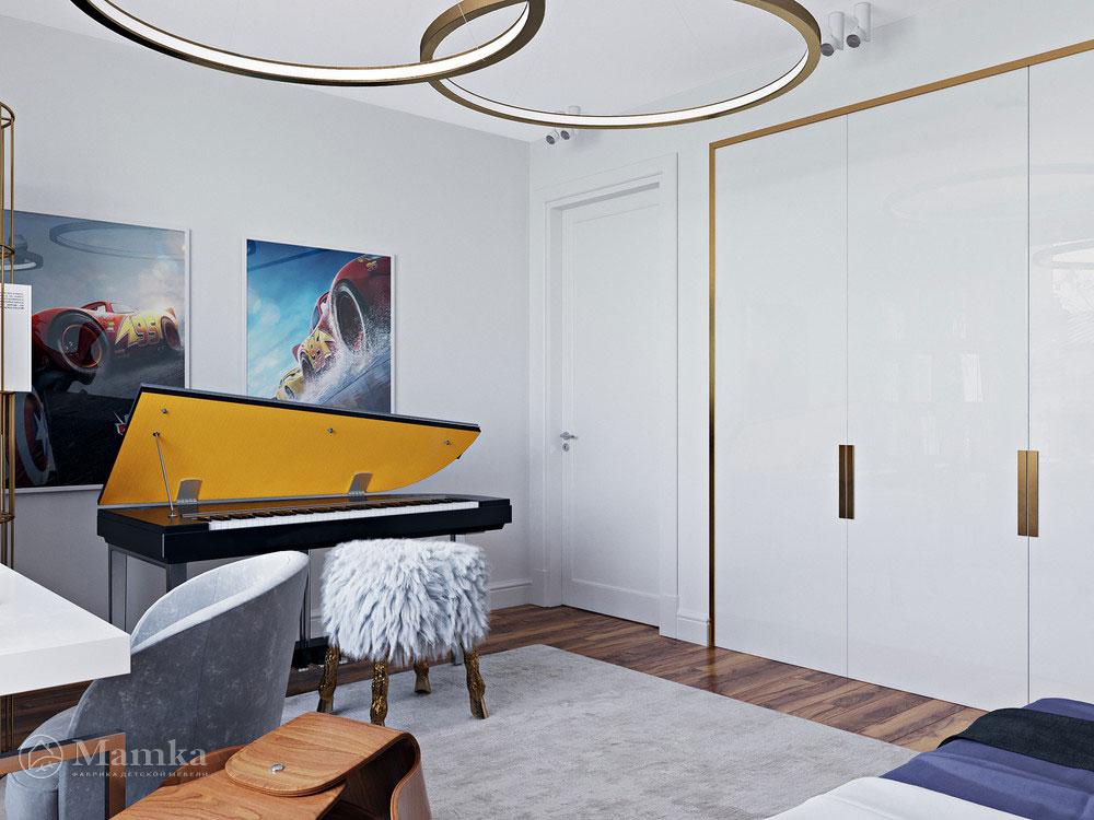 Идеи интерьера детской комнаты с ноткой современной роскоши 3