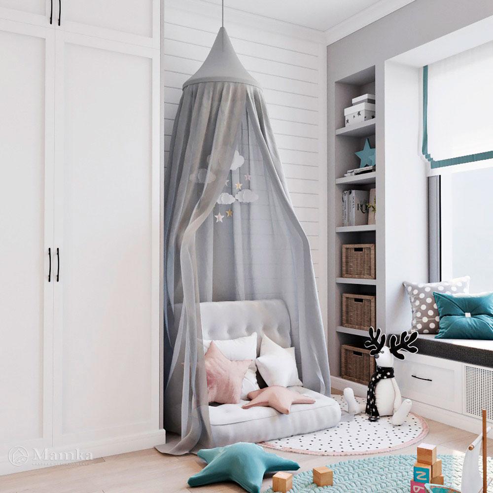 Необычная идея для детской комнаты – маленькая сказка, которая всегда рядом