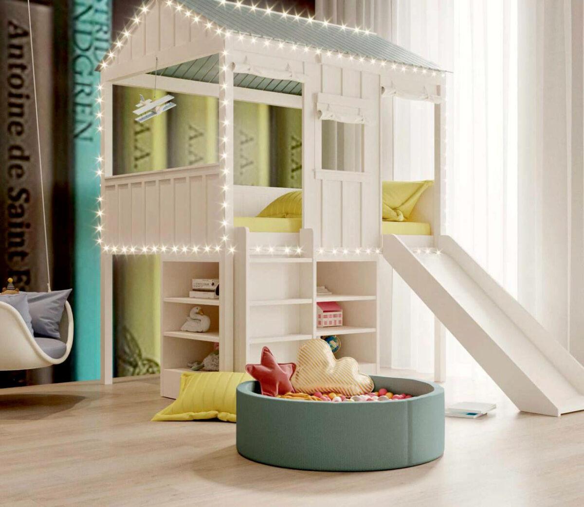 Игровая мебель для детской комнаты проект 3411-2