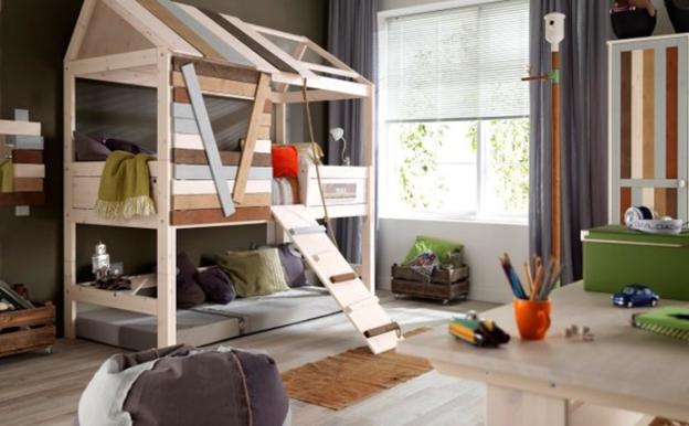 Детская комната в стиле лофт фото 2