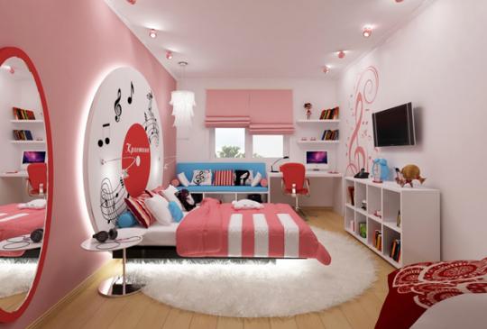 детская мебель для девочки в стиле лофт