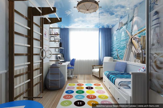 Детская комната в стиле лофт фото 3