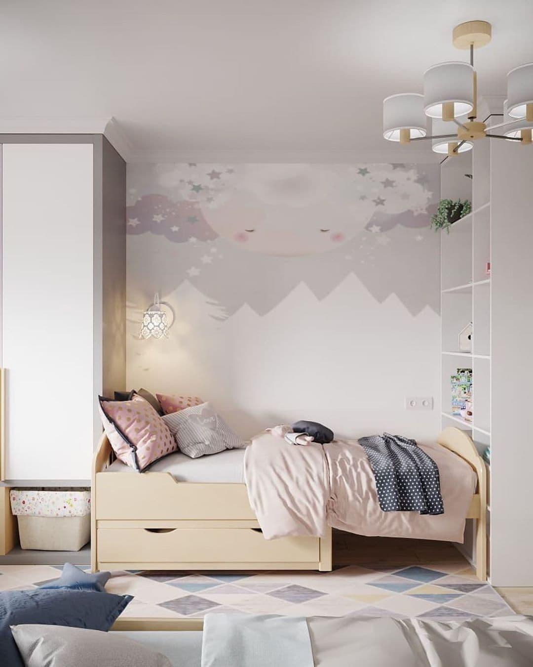 Интерьер детской комнаты для разнополых детей 5 лет 1