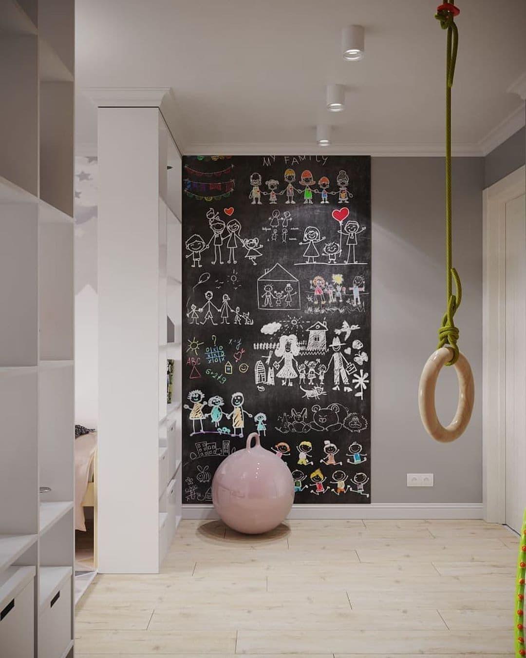 Интерьер детской комнаты для разнополых детей 5 лет 8