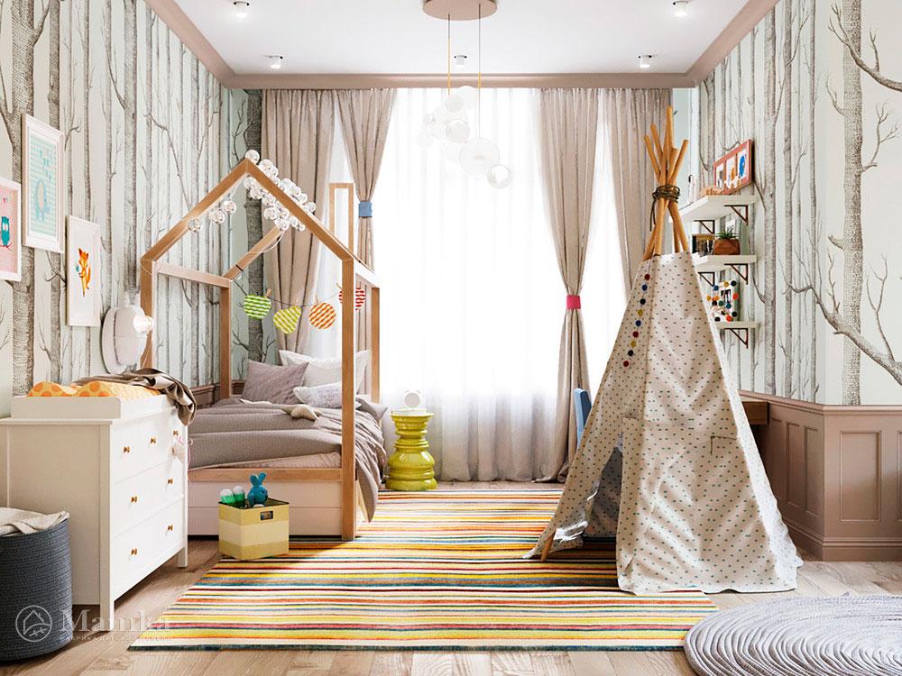 Интересные идеи для детской в эксклюзивном дизайн-проекте 1