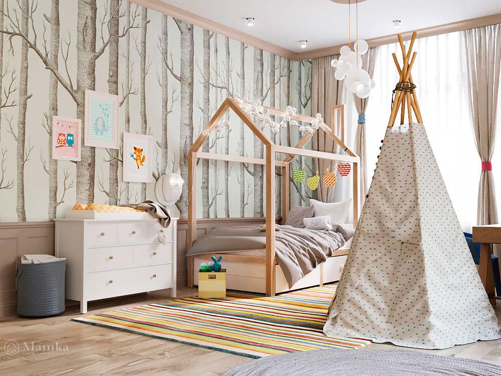 Интересные идеи для детской в эксклюзивном дизайн-проекте 2