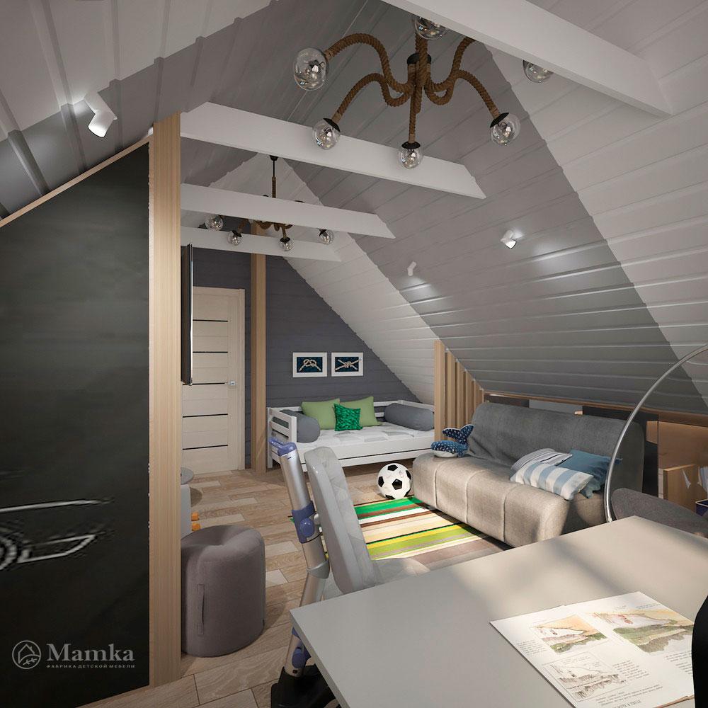 Интерьер детской комнаты для мальчика в современном стиле 4