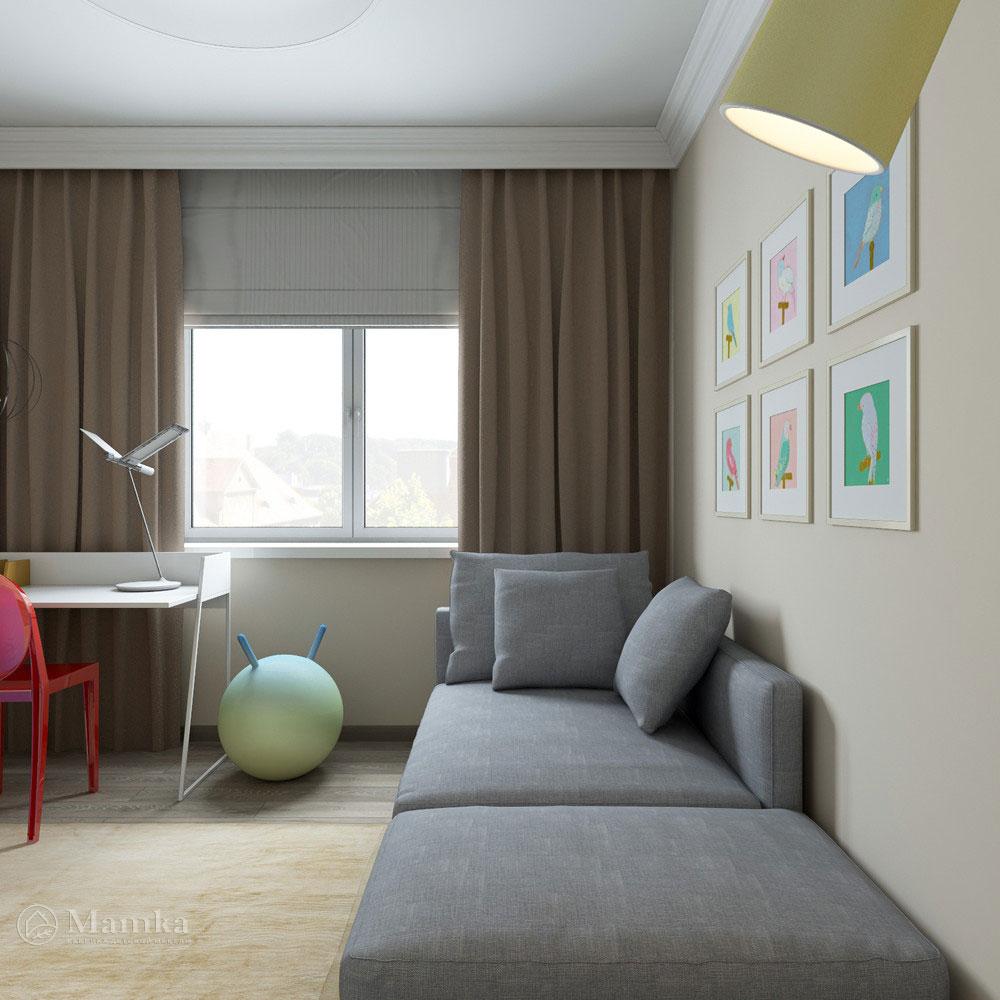 Интерьер детской в стиле минимализм для любого возраста 2