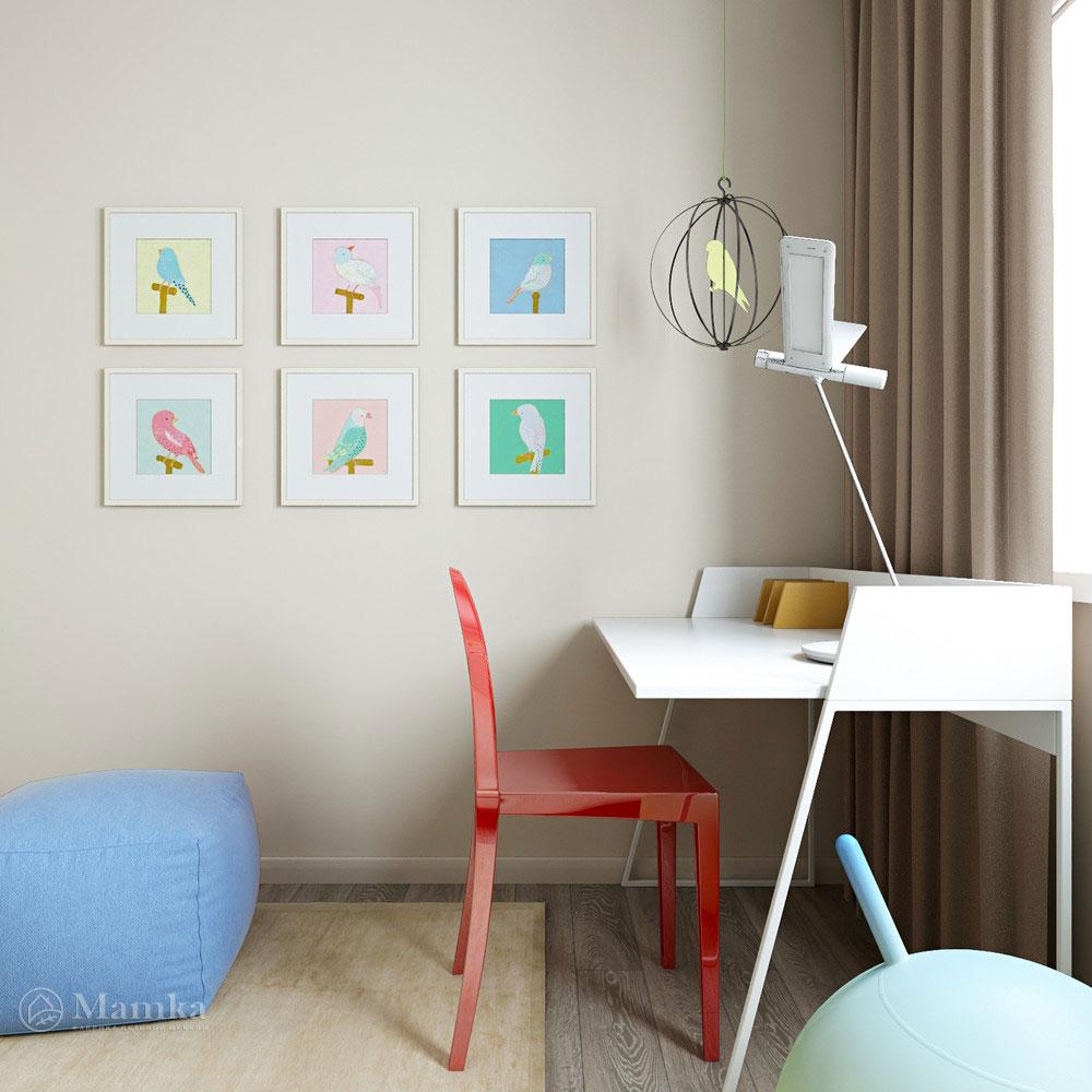 Интерьер детской в стиле минимализм для любого возраста 3