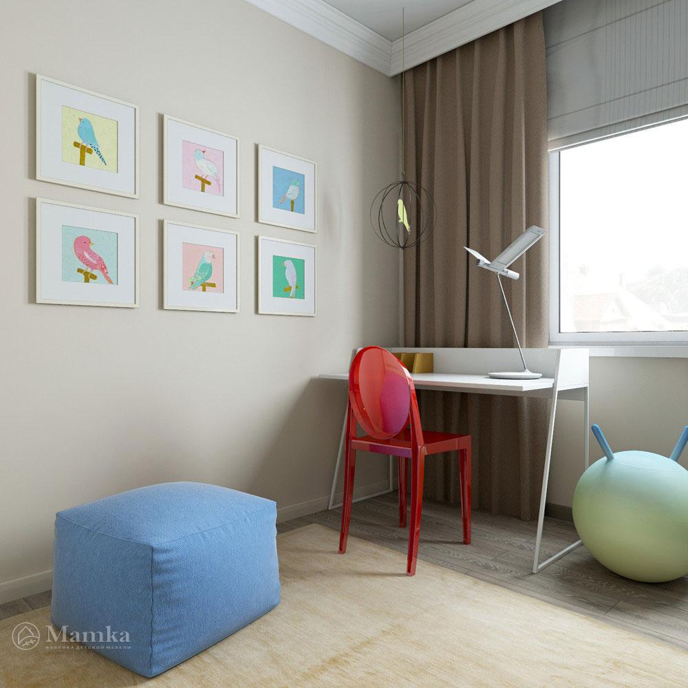 Интерьер детской в стиле минимализм для любого возраста 4