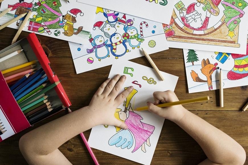интуитивное рисование ребенка фото-1