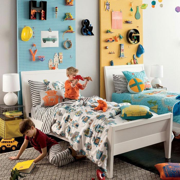 Как оформить детскую для 2 детей - советы дизайнера 8