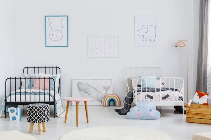 Как организовать комнату для двоих детей 1