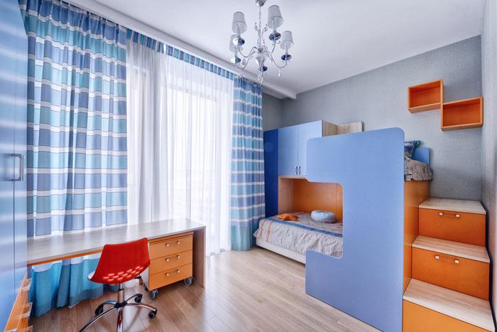 Как организовать комнату для двоих детей 2
