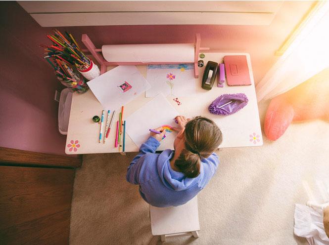 Как правильно организовать рабочее место для ребенка 2