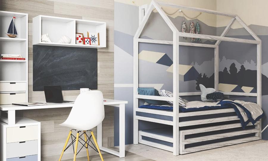 Как стильно обставить детскую комнату 12