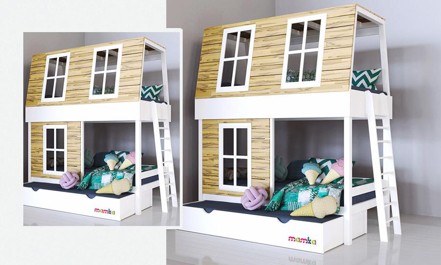 Как стильно обставить детскую комнату 3