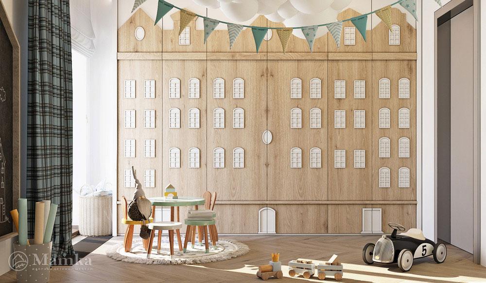 Комфортный дизайн детской зоны с практичной планировкой 6
