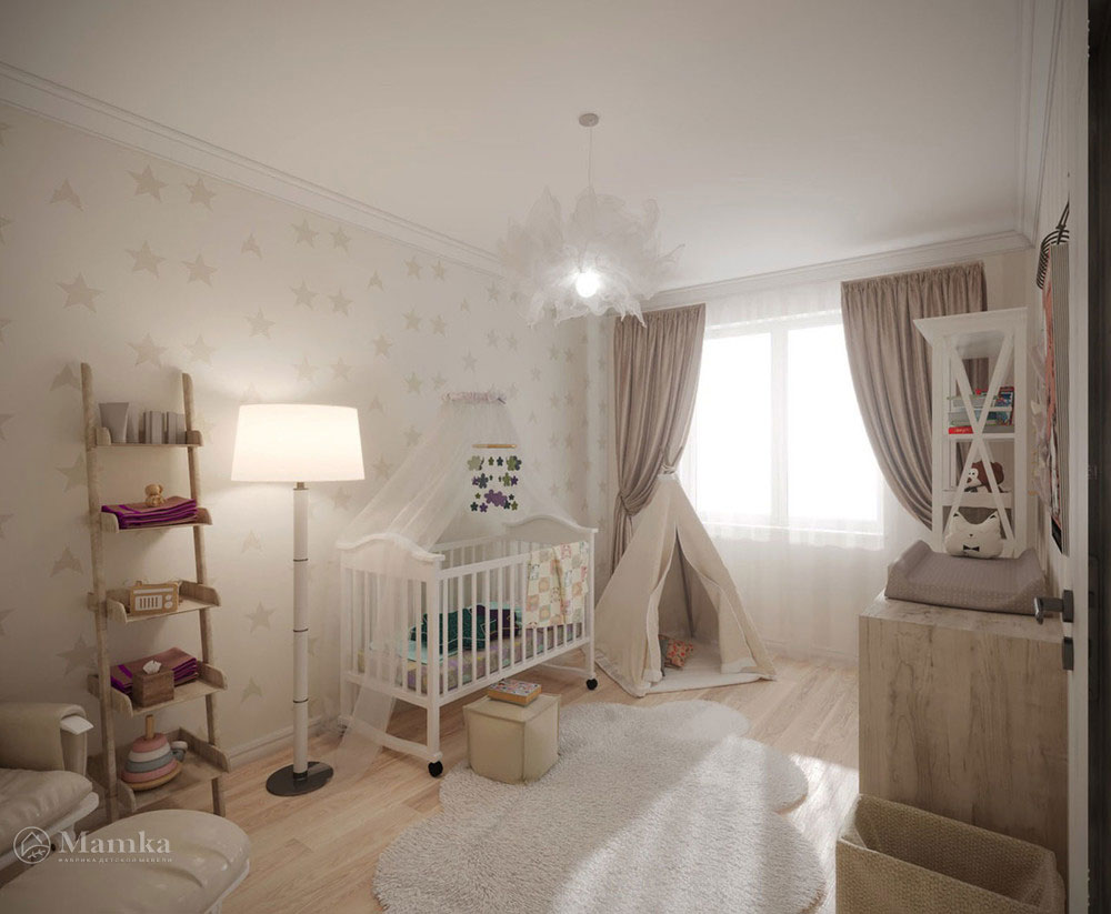 Изумительно красивые идеи дизайна детской 1
