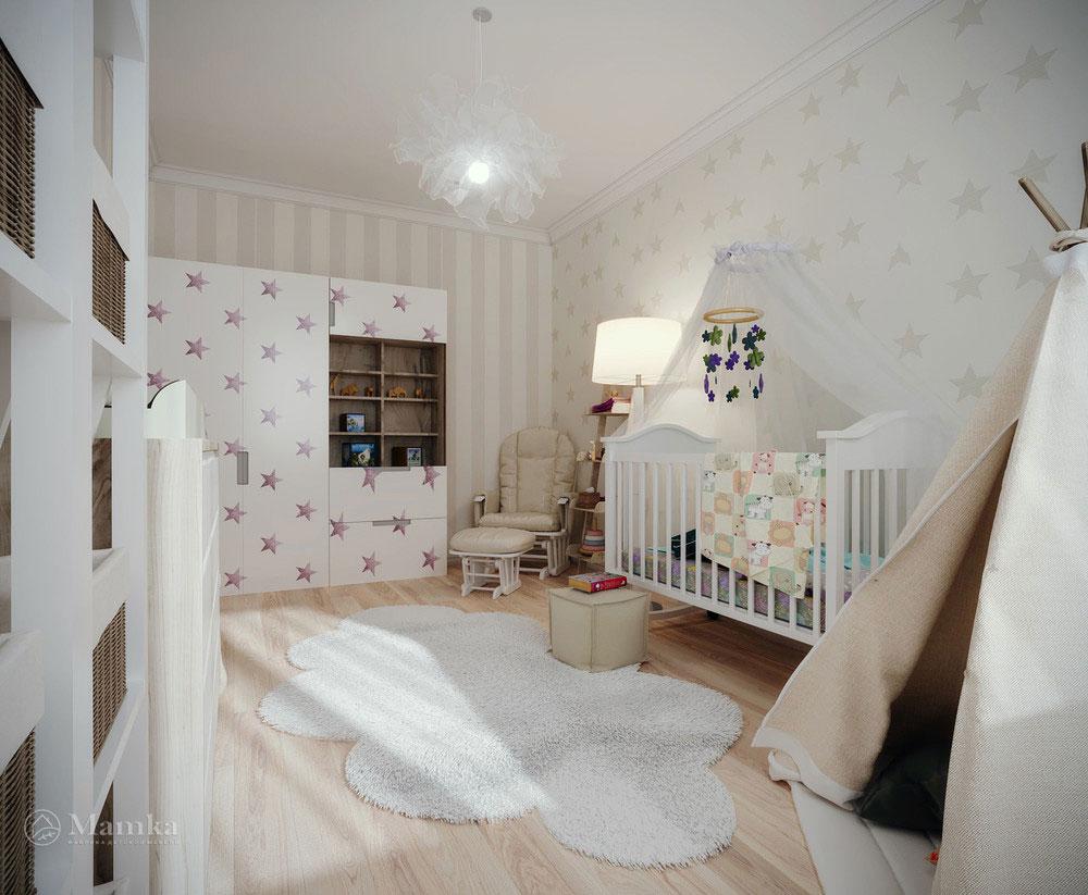 Изумительно красивые идеи дизайна детской 4