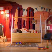 Кровать домик индейца