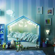 Кровать-домик с закрытым верхом