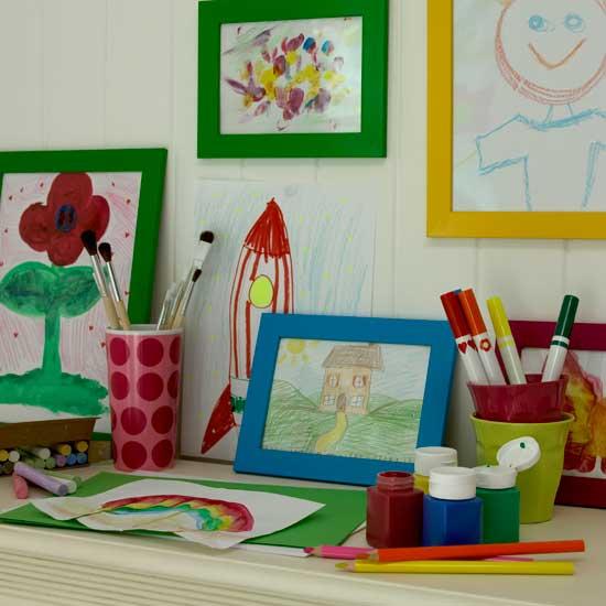 Летние идеи дизайна детской комнаты