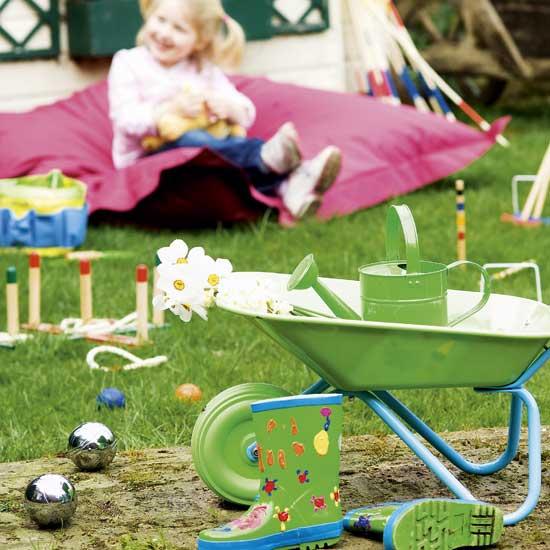 Летние идеи дизайна детской: детские инструменты