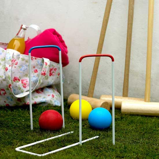 Летние идеи дизайна детской: игра крокет