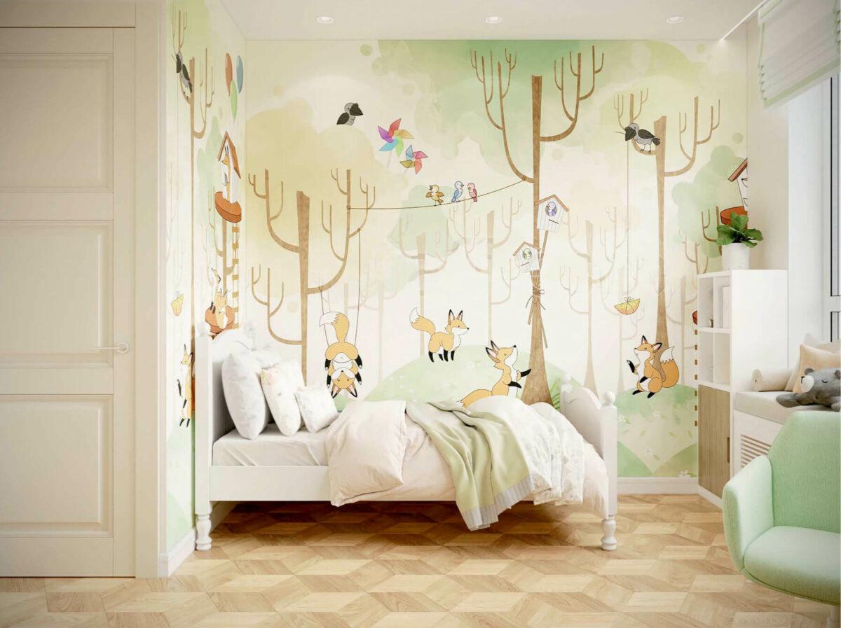 Мебель детской для девочки проект 3075-1-3