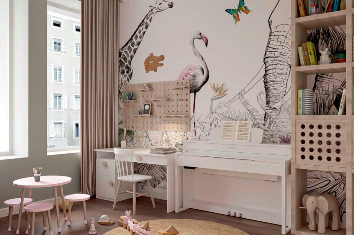 Мебель детской для девочки проект 4005-7