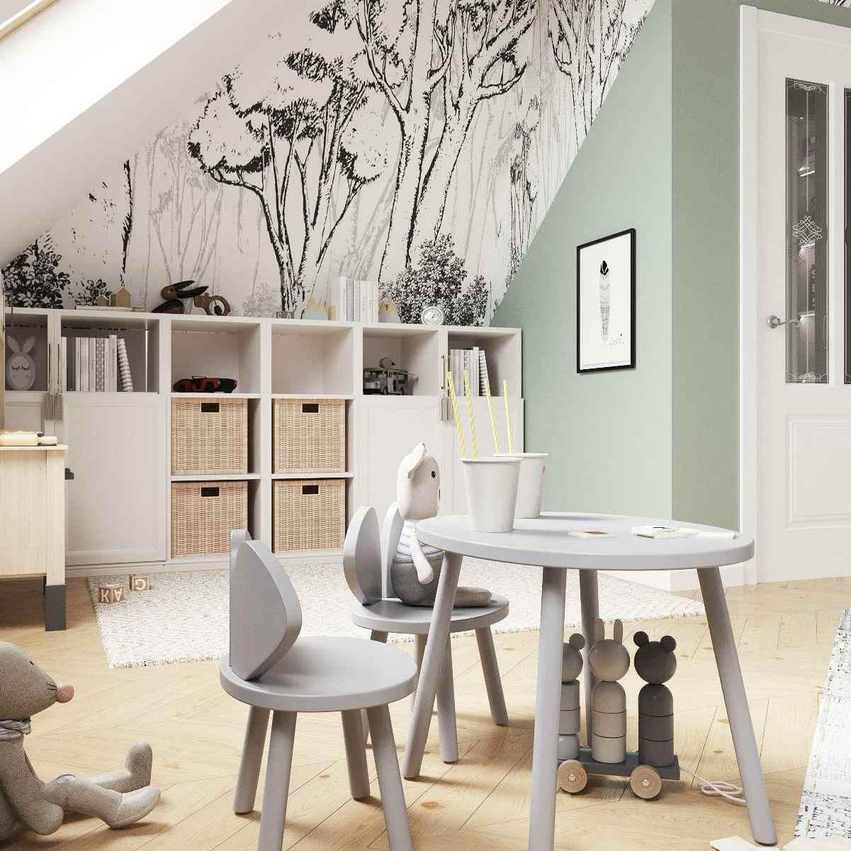 Мебель детской комнаты девочки 3-5 лет проект 4035-1