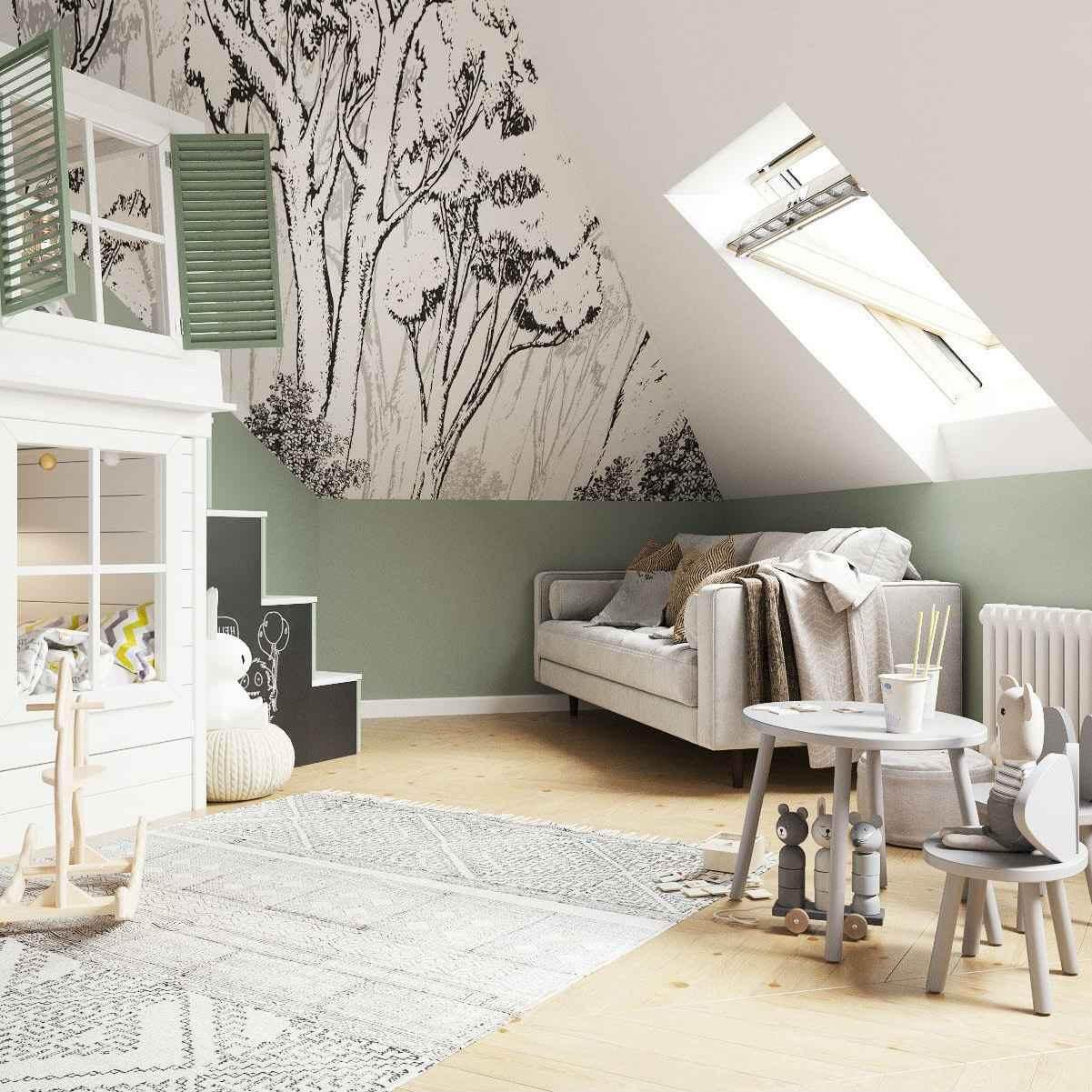 Мебель детской комнаты девочки 3-5 лет проект 4035-5