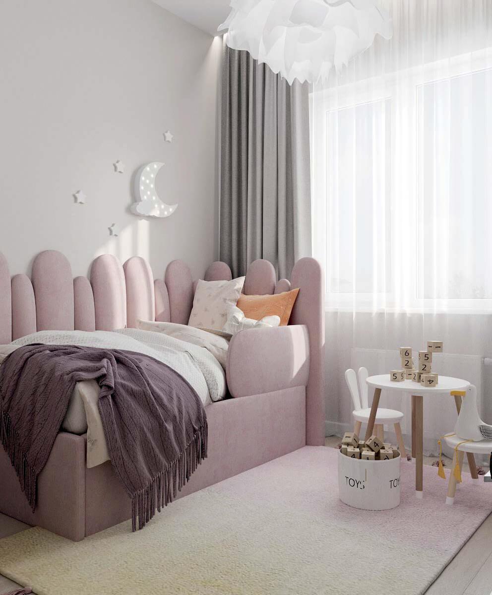 Мебель детской комнаты девочки проект 4031-2-1