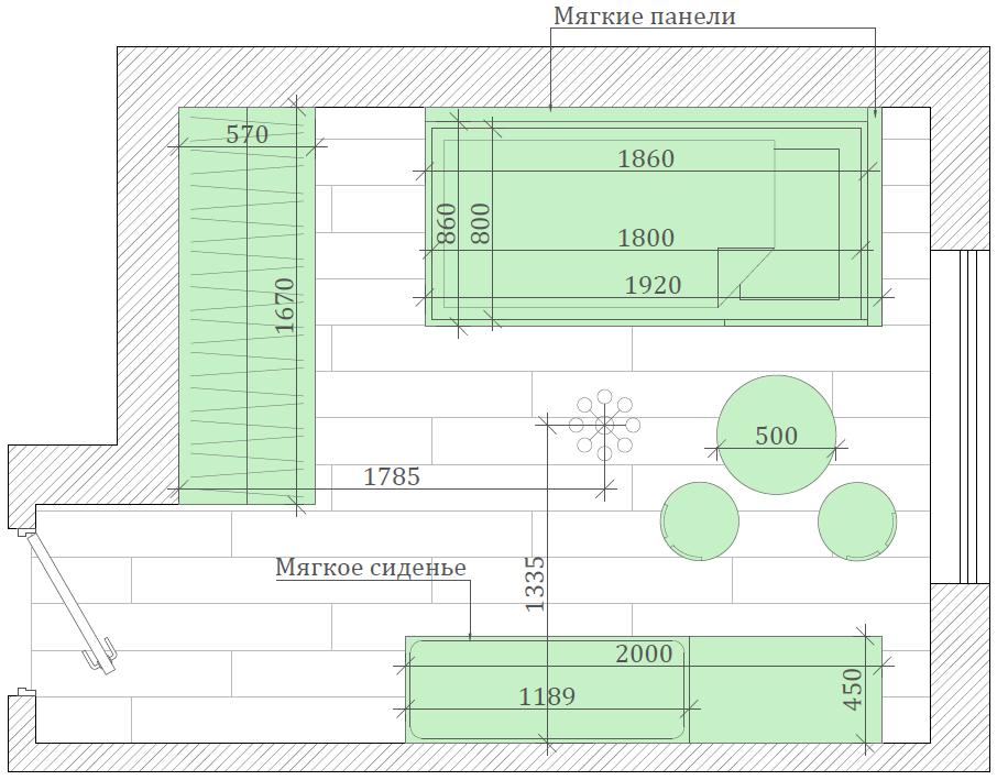 Мебель детской комнаты девочки проект 4031-2-7
