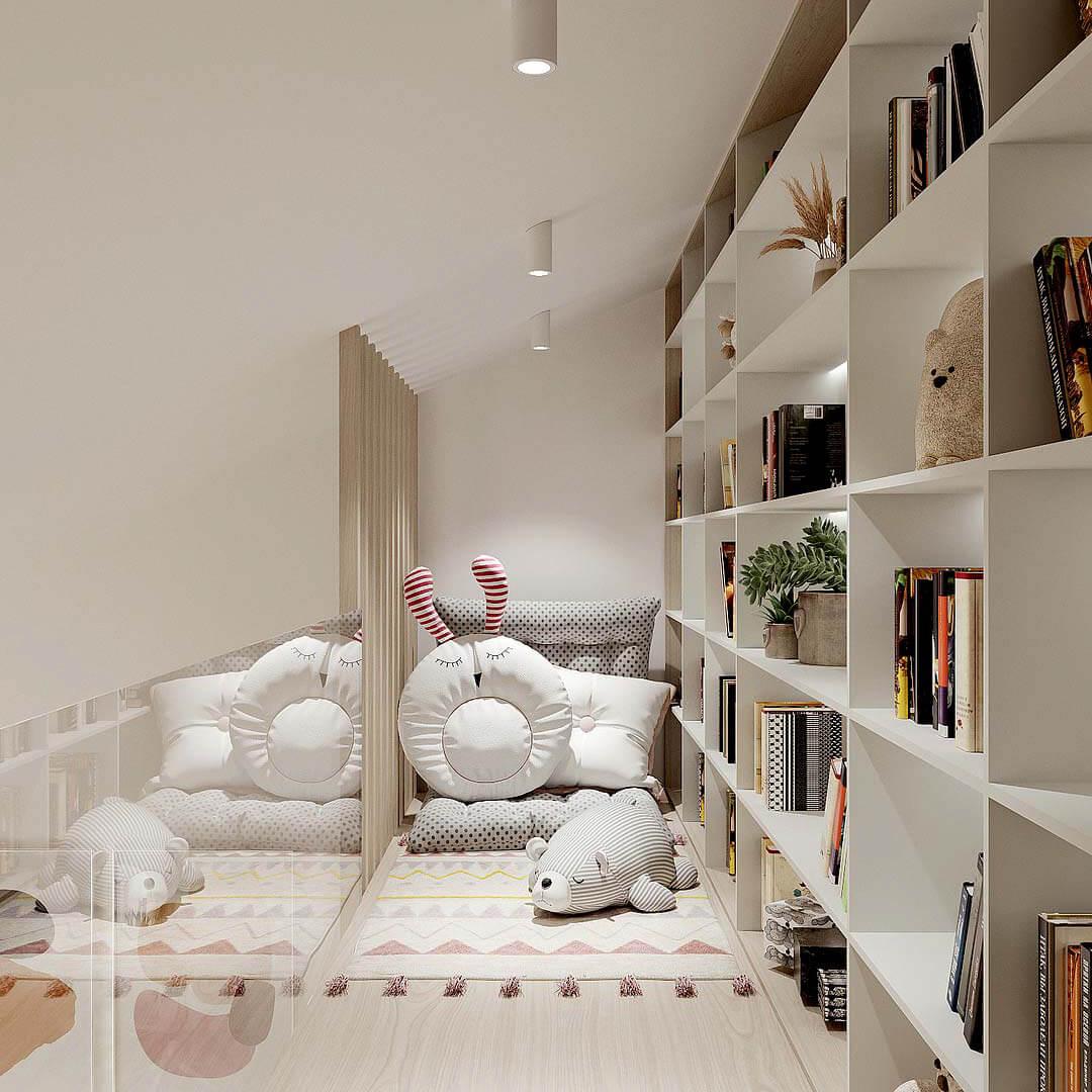 Мебель детской комнаты девочки-школьницы проект 4653-6