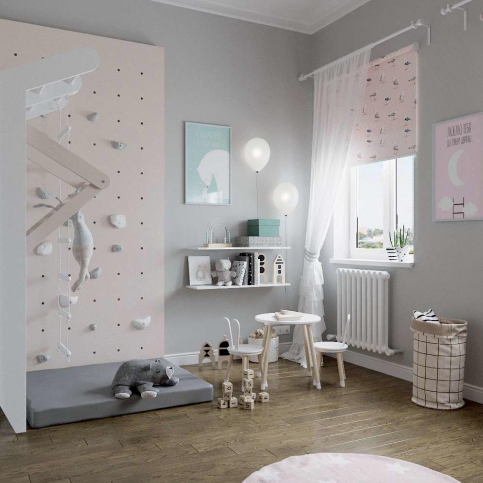 Мебель детской комнаты для девочки проект 3101-5
