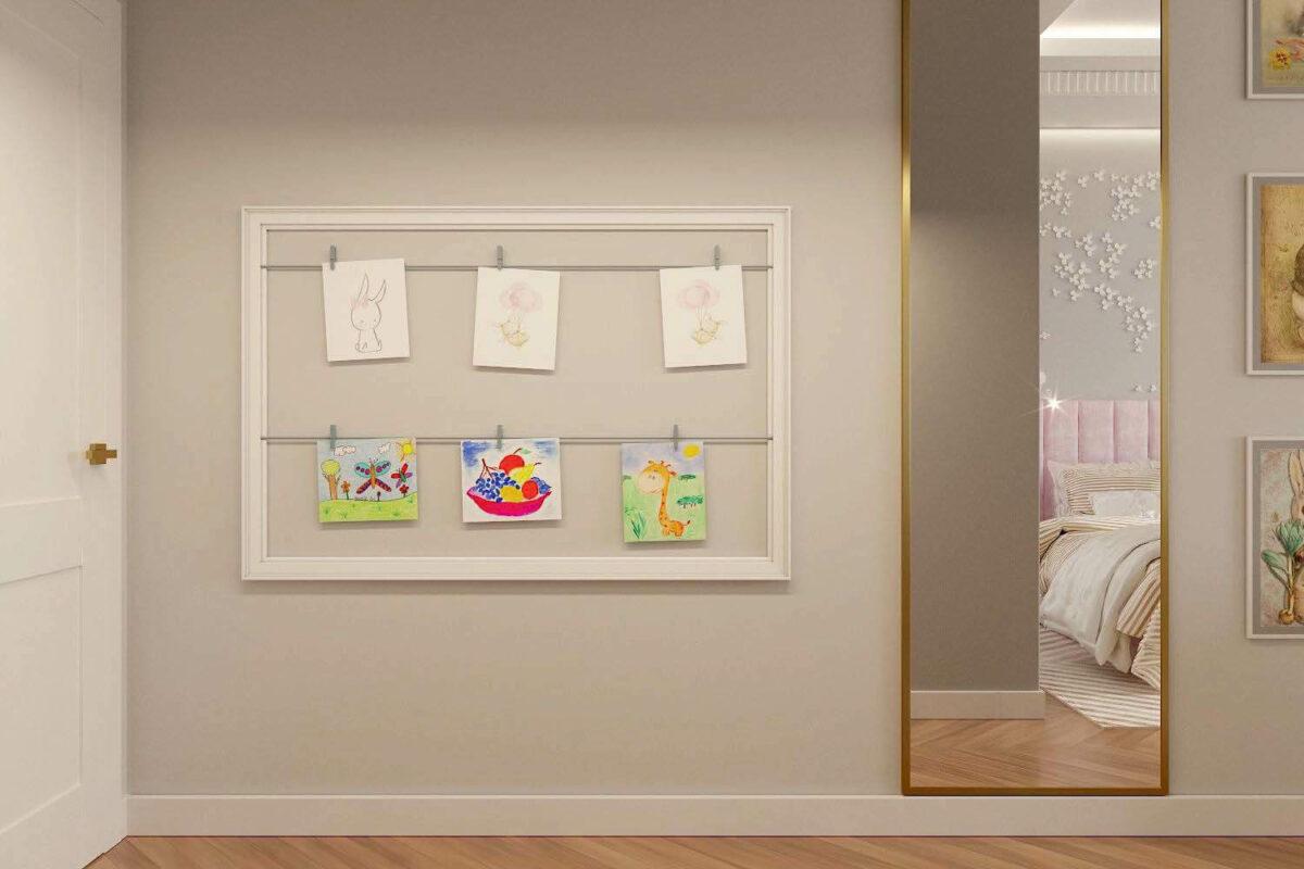 Мебель детской комнаты для девочки-школьницы проект 3847-2