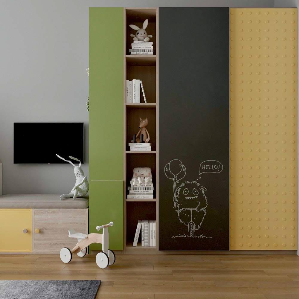 Мебель детской комнаты для мальчика проект 3299-2