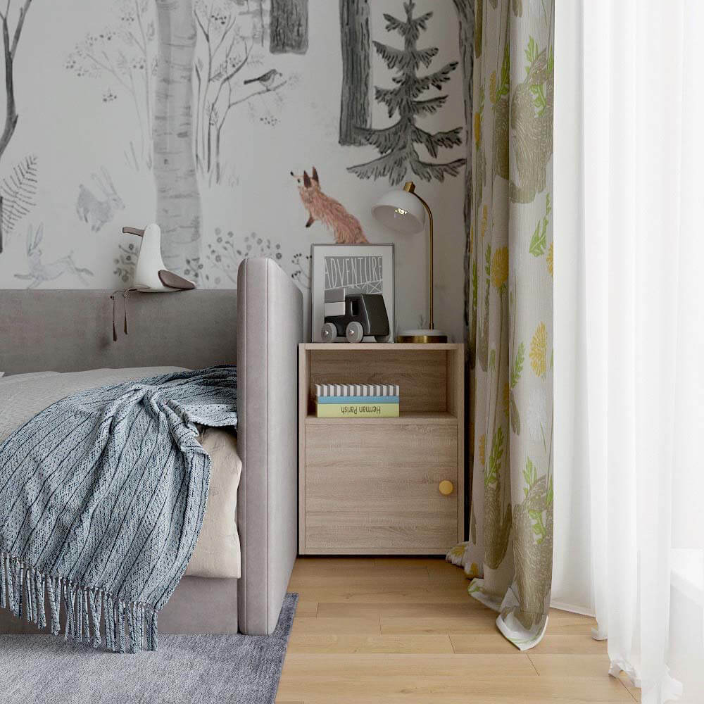 Мебель детской комнаты для мальчика проект 3299-4