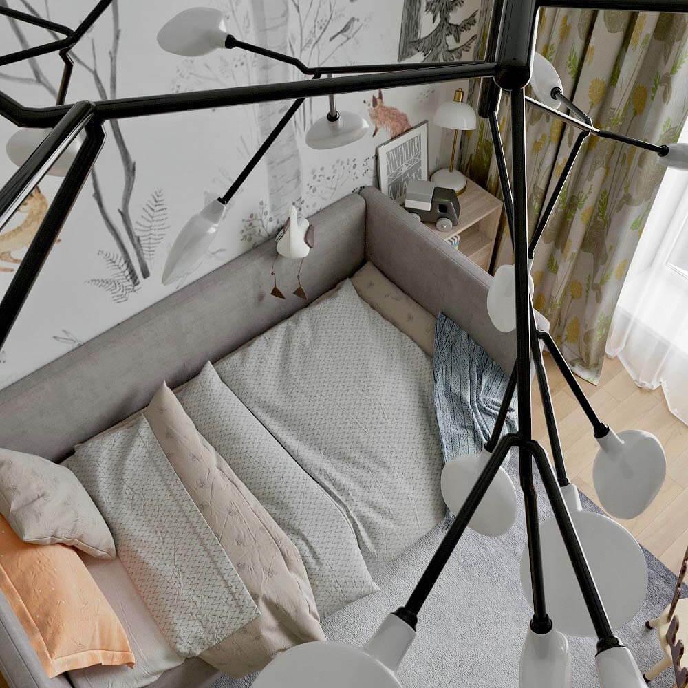 Мебель детской комнаты для мальчика проект 3299-6