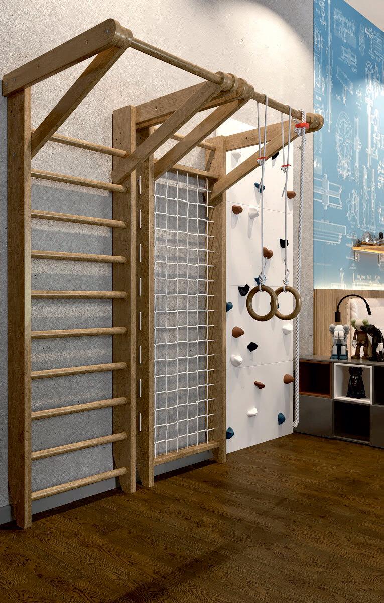 Мебель детской комнаты мальчика проект 5075-5