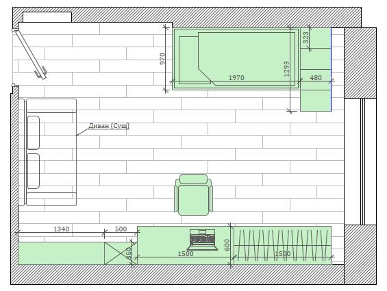 Мебель детской комнаты мальчика-школьника проект 3827-6